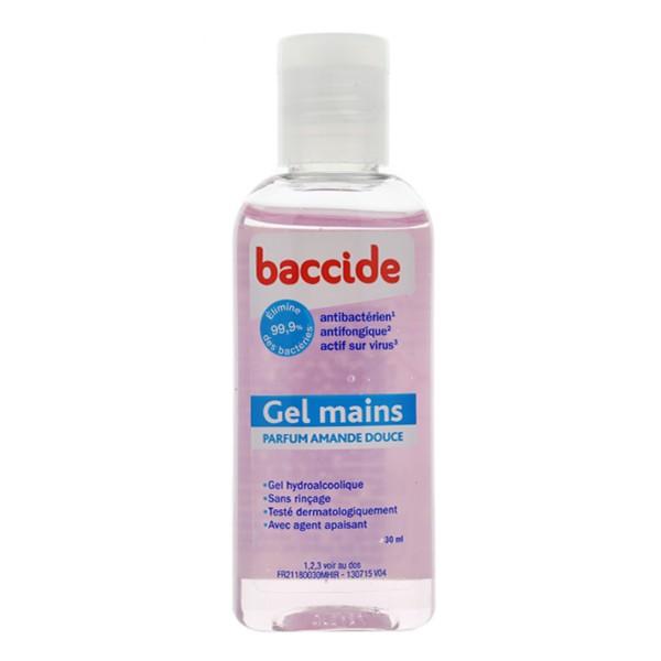 Desinfectant Main Baccide Gel Hydroalcoolique Mains Au Parfum