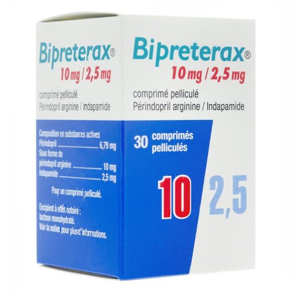 Bipreterax 10mg/2,5mg - Hypertension artérielle..