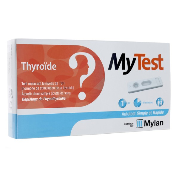 MyTest Thyroïde 1 kit - Autotest