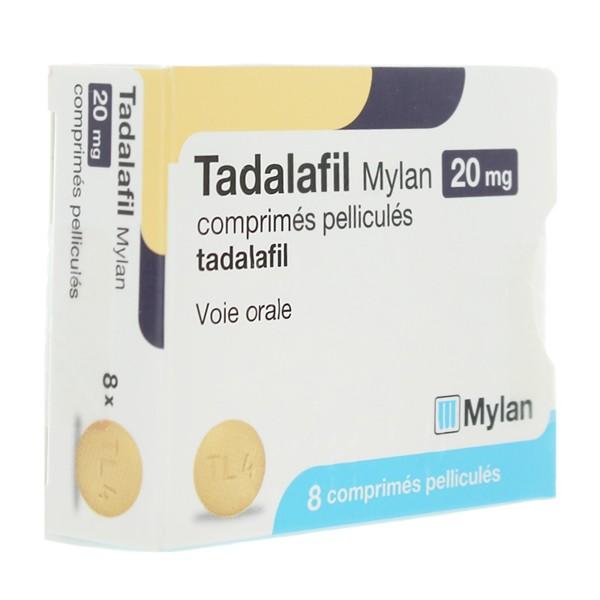 Tadalafil Mylan 20 Mg Comprimes Trouble Erection