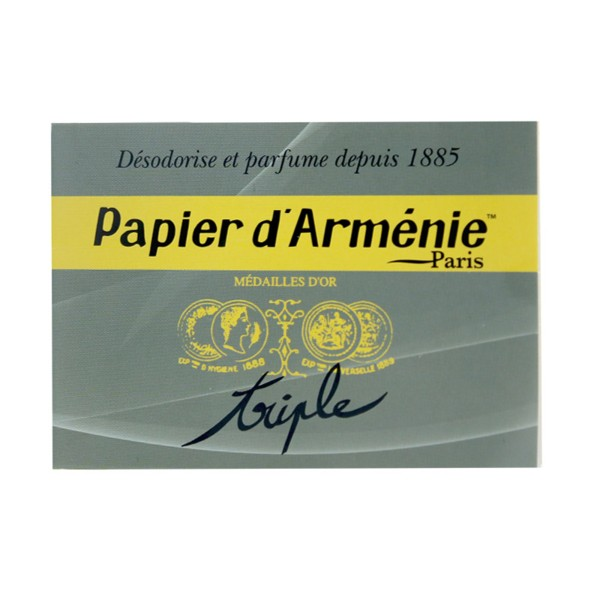 Papier D Armenie Triple 36 Lamelles Desodorisant Parfumant
