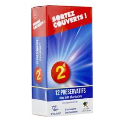 Sortez Couverts 12 préservatifs