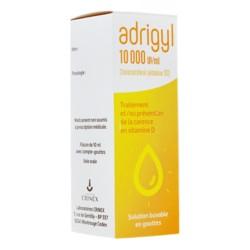 Adrigyl 10000 UI/ml solution buvable en gouttes 10 ml