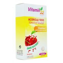 Acerola 1000 Vitamine C comprimés à croquer