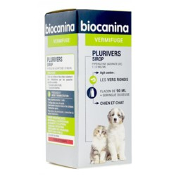 Biocanina Plurivers vermifuge sirop