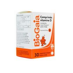 Biogaia Vitamine D 30 comprimés à croque