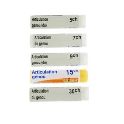Articulation hanche dose homéopathique Boiron - Arthrose..