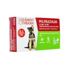 Clément Thékan Milprazikan 2,5 mg/25 mg pour chien