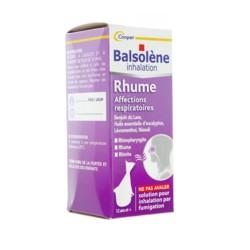 Balsolène solution pour inhalation par fumigation