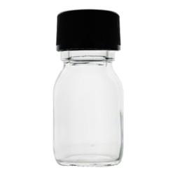Cooper Flacon verre transparent