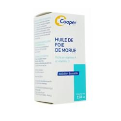 Cooper huile de foie de morue