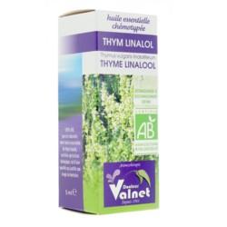Docteur Valnet huile essentielle bio Thym linalol