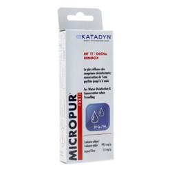 Micropur Forte désinfectant 50 comprimés