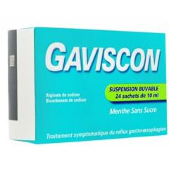 Gaviscon arôme menthe suspension buvable
