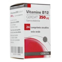 Vitamine B12 gerda 250µg