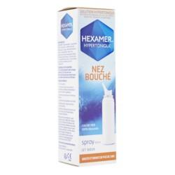 Hexamer Hypertonique nez bouché spray nasal