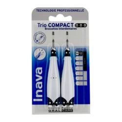 Inava Trio Compact brossettes interdentaires étroits