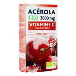 Les 3 Chênes Acérola 3000 mg bio