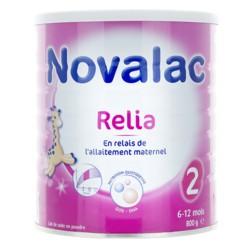 Novalac Relia lait 2ème âge