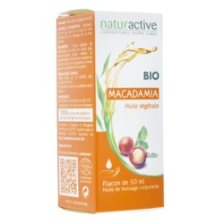 Naturactive huile végétale de macadamia bio