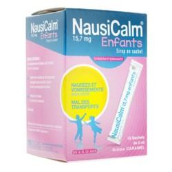 Nausicalm sirop en sachet 15 doses
