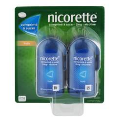 Nicorette 2mg fruits 4x20 comprimés à sucer