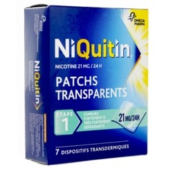 Niquitin patch anti tabac 21mg/24 h