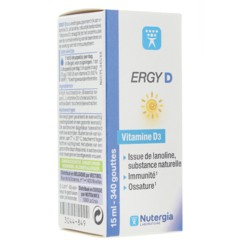 Nutergia Ergy D solution 15 ml