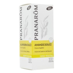 Pranarôm huile végétale d'amande douce bio