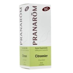 Pranarom huile essentielle citronnier