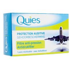 Quies Protection Auditive filtre anti-pression