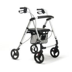 Rollator Ecoplus 4 roues avec panier