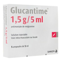 Glucantime 1,5g/5ml solution injectable