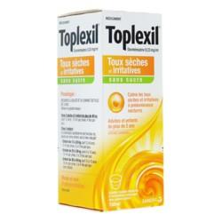 Toplexil sans sucre sirop