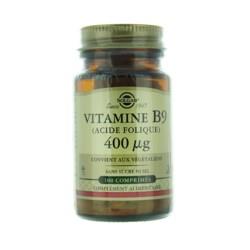 Solgar vitamine B9 400 µg
