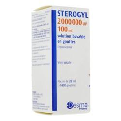 Sterogyl solution buvable 20 ml