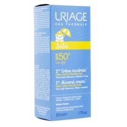 Uriage Bébé Crème solaire minérale SPF 50+