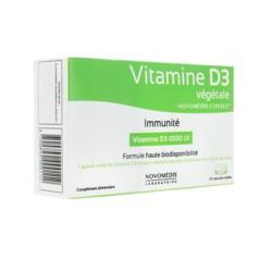 Vitamine D3 végétale capsules molles