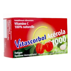 Vitascorbol Acérola 1000